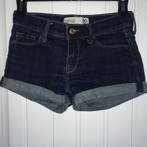 Abercrombie & Fitch Low rise shorts